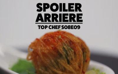 Spoiler Arrière – Top Chef S08e09 : La Guerre des Restaurants
