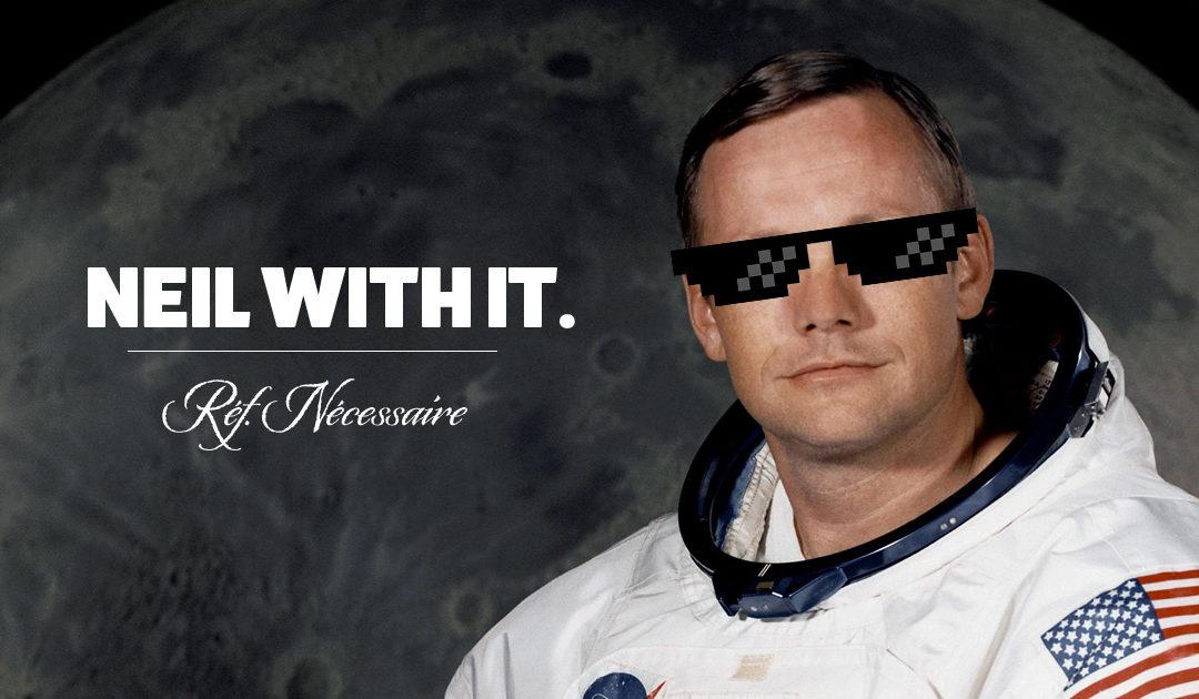 Réf. Nécessaire 5 : Neil Armstrong