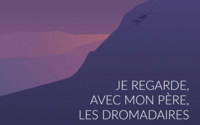 «Je regarde, avec mon père, les dromadaires descendre de la falaise» de Ron Del Matto