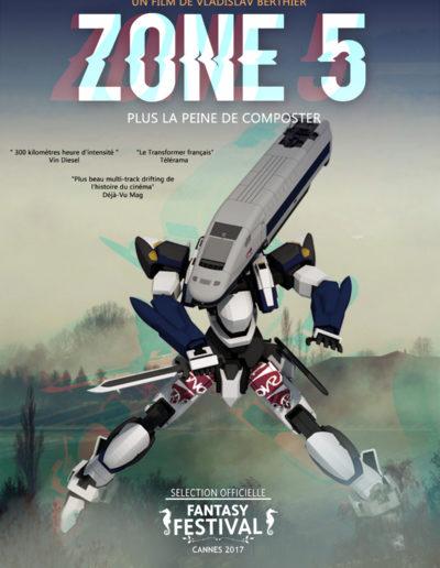 """""""Zone 5"""" par Boudin"""