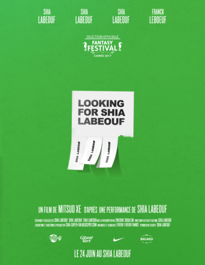 looking-for-shia-labeouf par Hugo