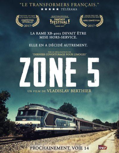 """""""Zone 5"""" par Fred Poirier"""