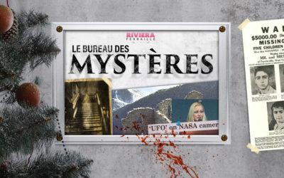 Le Bureau des Mystères 4 – Noël : The Brown Lady, Rocca Sparviera, Le Dossier Sodder, UFOS de Noël
